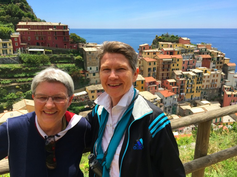 Riomaggiore Di and Pam Pic - LGBT couple