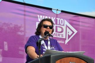 Christina King speaking Walk 2017